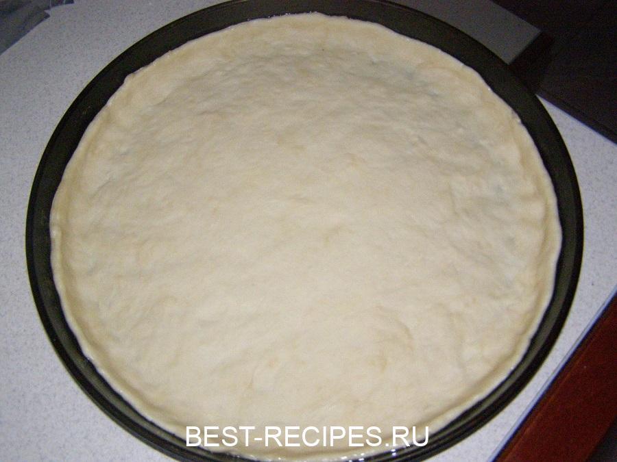 Настоящее итальянское тесто для пиццы