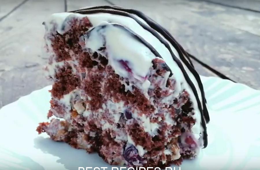 """Обалденный торт """"Панчо"""" - готовим без духовки"""
