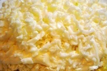 Слоенный салат «Невеста»