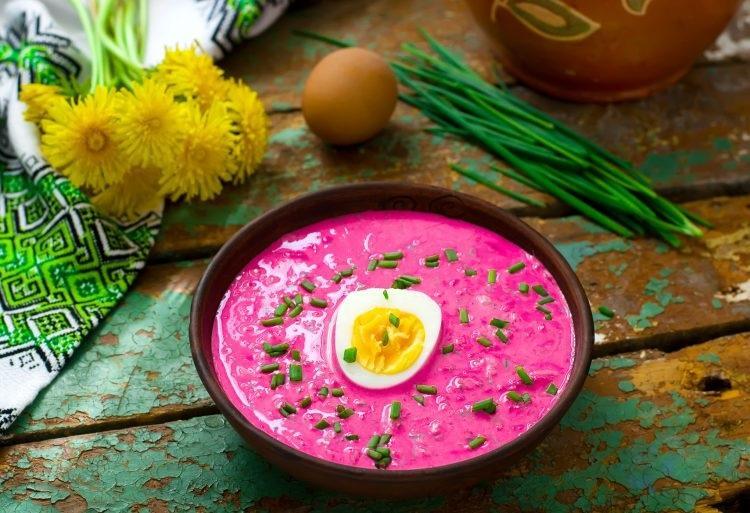 Самый вкусный суп из свеклы