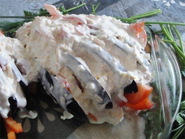 Хит сезона: баклажаны под сметанным соусом