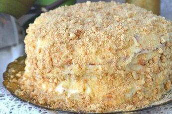Торт «Наполеон» на сковородке. Мой любимый рецепт