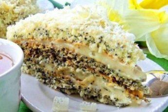 Не займет много времени! Обалденно вкусный торт «Царица эстер».