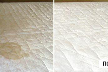 Самый эффективный и быстрый способ почистить любимый матрас!