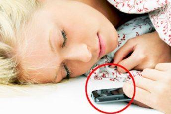 Если вы оставляете на ночь мобильный телефон возле кровати — обязательно прочтите эту статью 1