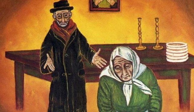 Еврейская притча для всех мам! В одной еврейской семье было много детей, но мало денег 1