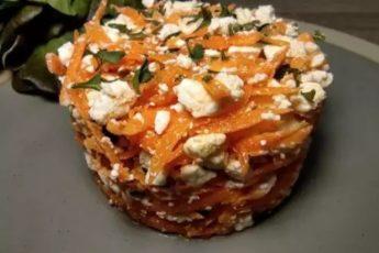 На деревенской свадьбе очень понравился салат с морковью: варить не надо, а готовить 5 минут 1