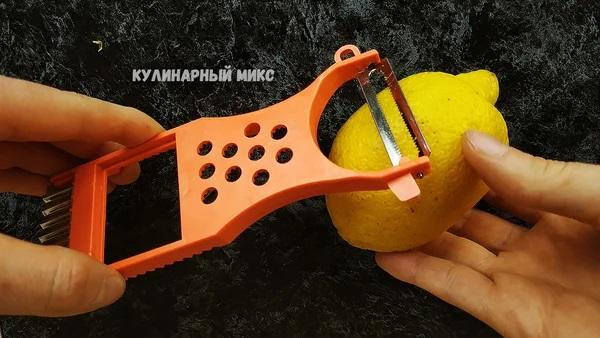 Подруга научила снимать цедру с лимона без тёрки: нашла способ проще и быстрее 4