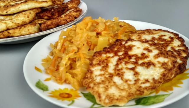 Стакан кефира + куриный фарш = безупречное блюдо 4